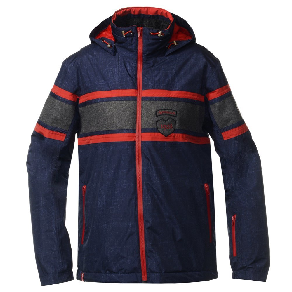 Мужская горнолыжная куртка Almrausch Staad 320103-1805 джинс фото