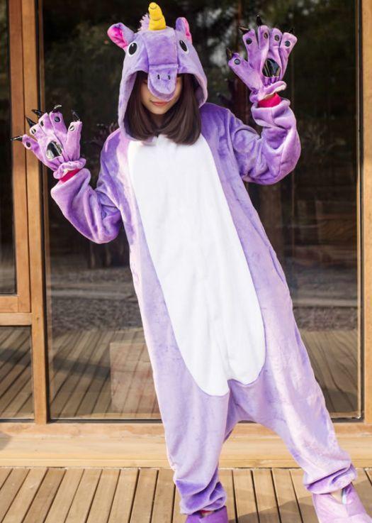 Пижамы кигуруми Единорог Пурпурный Clipboard06.jpg