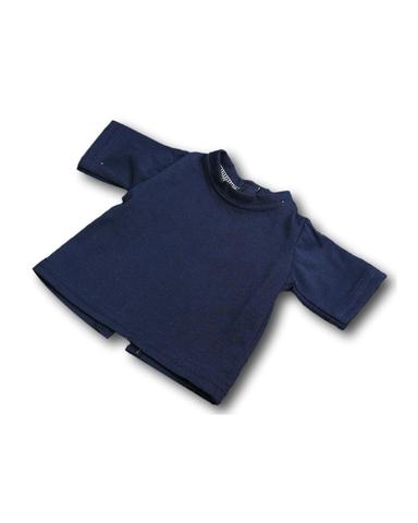 Футболка - Синий. Одежда для кукол, пупсов и мягких игрушек.