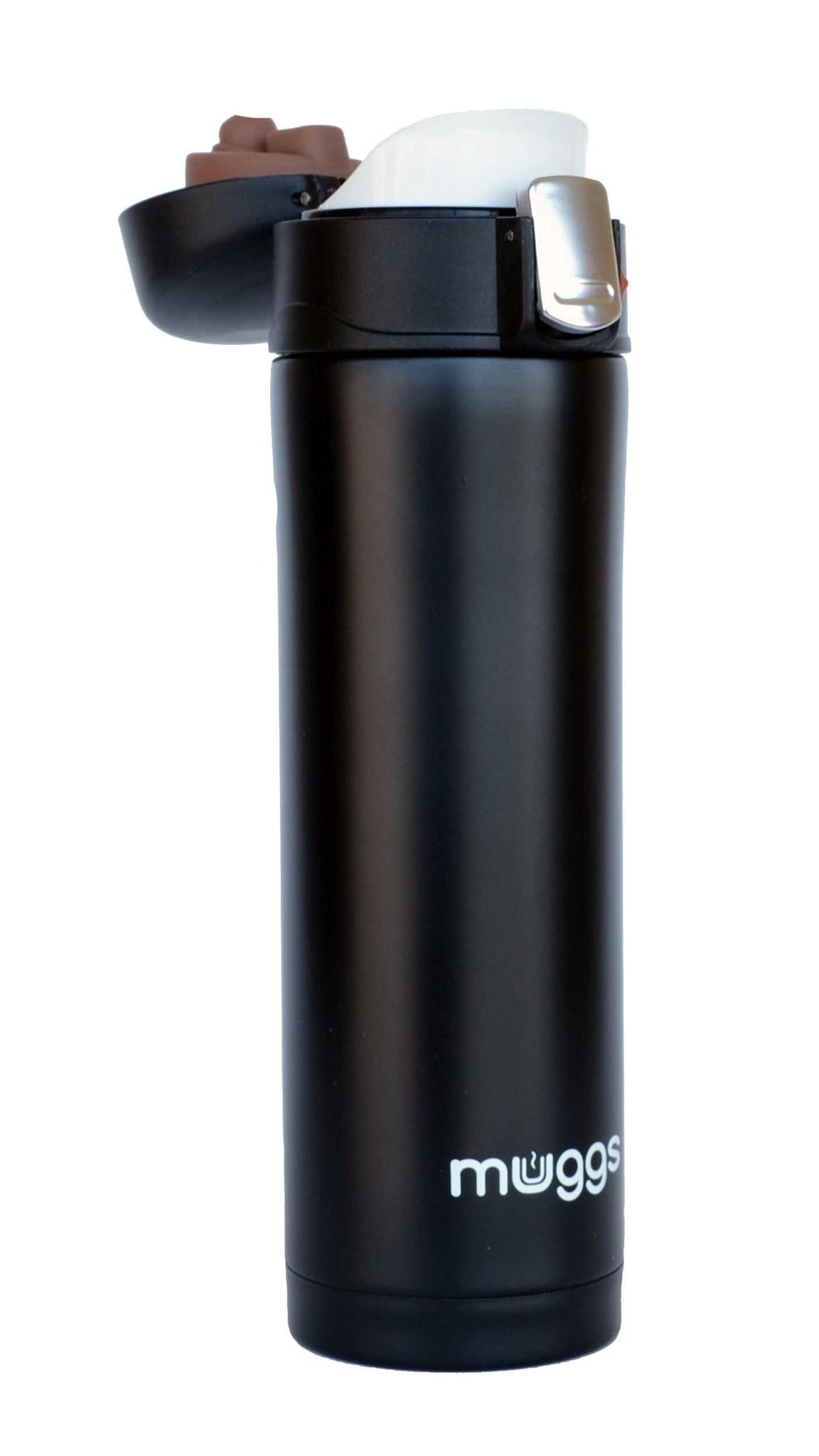 Термос-кружка Muggs Diva 0,45 л. черная
