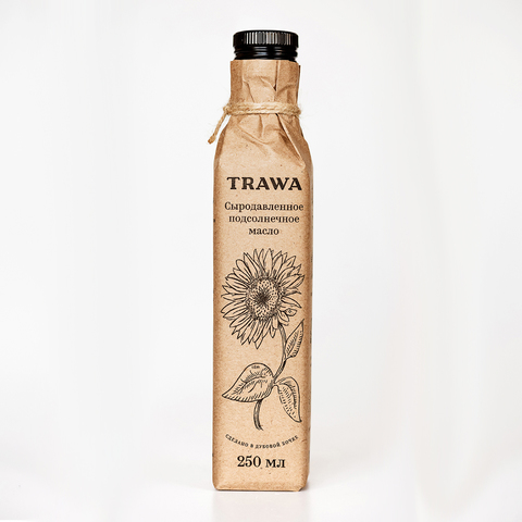 Trawa Масло сыродавленное подсолнечное 250 мл