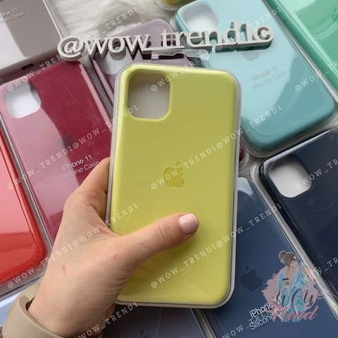 Чехол iPhone 11 Pro Silicone Case Full /flash/