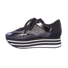 Комбинированные кроссовки Pertini 13722 на платформе
