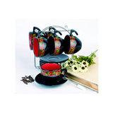 Набор чайный 12 предметов на подставке, артикул HW S026-KL, производитель - Rainbow