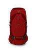 Картинка рюкзак туристический Osprey Atmos Ag 50 Rigby Red
