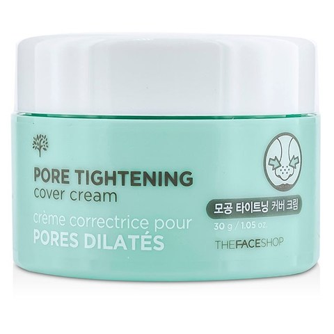 Крем для сужения пор THE FACE SHOP Pore Tightening Cover Cream, 30гр.