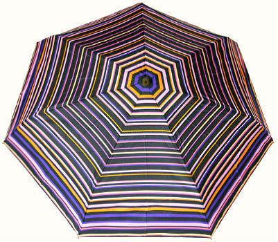 Зонт мини Guy de Jean 2002-2 à Raies violet