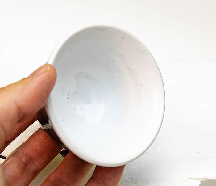CUP114 Пиала ручной работы с глазурью синего цвета фото 07