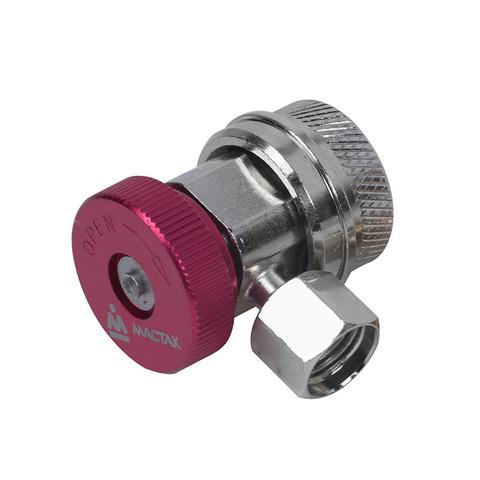 МАСТАК (105-40014) Муфта быстросъемная с вентилем, высокого давления, фреон R134a