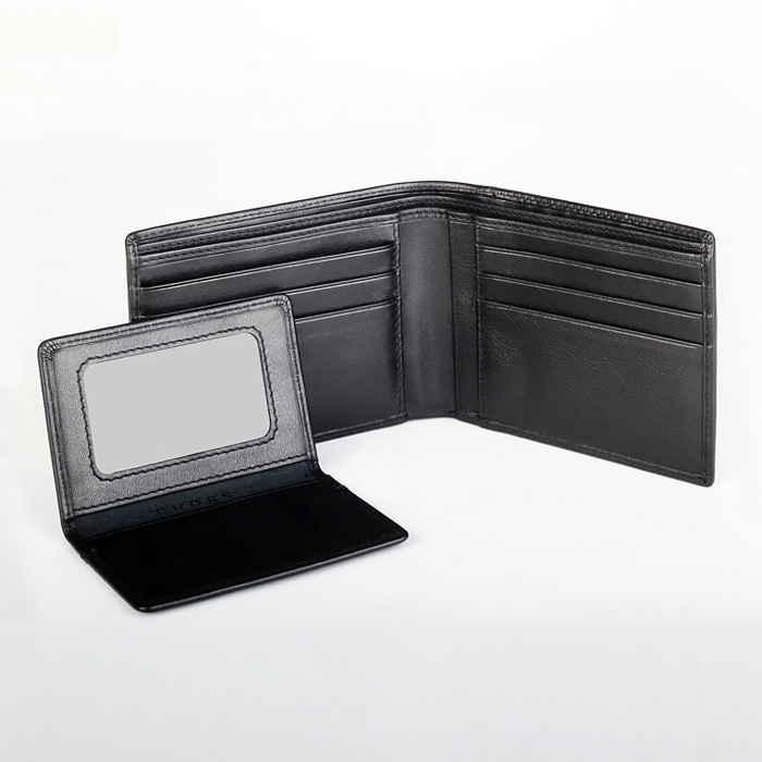 Кошелек Cross Classic Century, цвет черный, 11 х 9,6 х 1,5 см