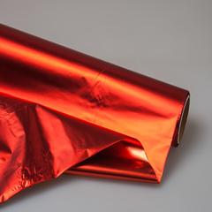 Полисилк металлизированный двухсторонний 20м (красный)