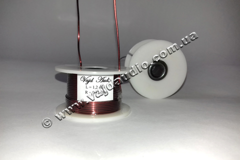 Катушка индуктивности Vajd Audio  1,2 mH*  0,33 Оhm* 1 mm