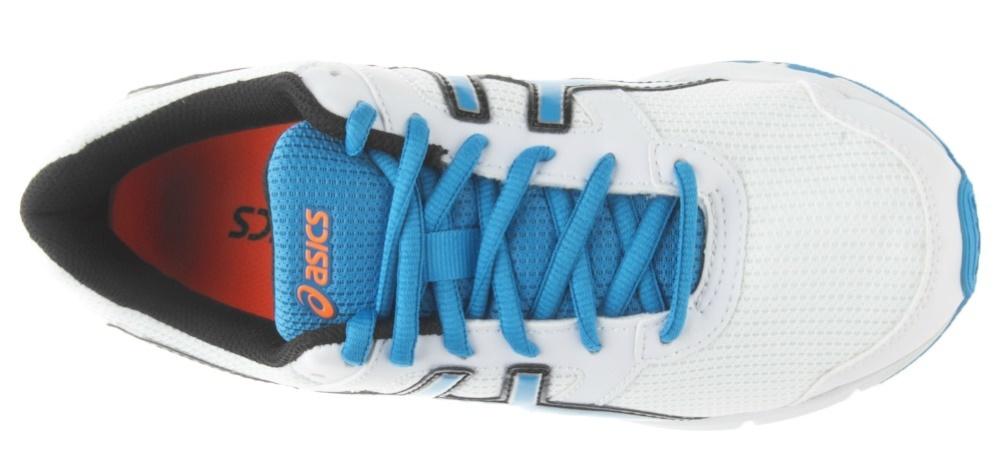 Детские кроссовки для бега Asics Gel-Galaxy 8 GS (C520N 0142) белые фото