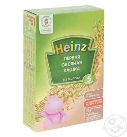 Каша Heinz первая овсяная с 5 мес. 180 гр. б/мол.