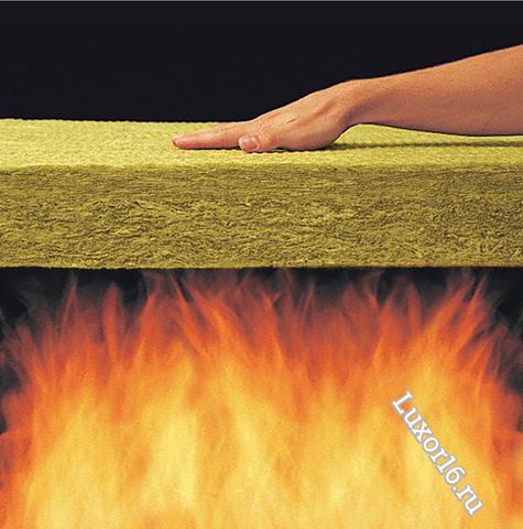 Негорючий, огнестойкий утеплитель