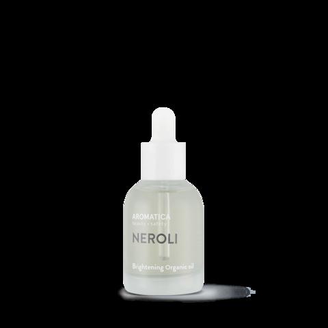 Осветляющее и выравнивающее тон кожи масло для лица, 30 мл / Aromatica Organic Neroli Brightening Facial Oil