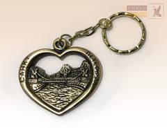 брелок Банковский мост в сердце