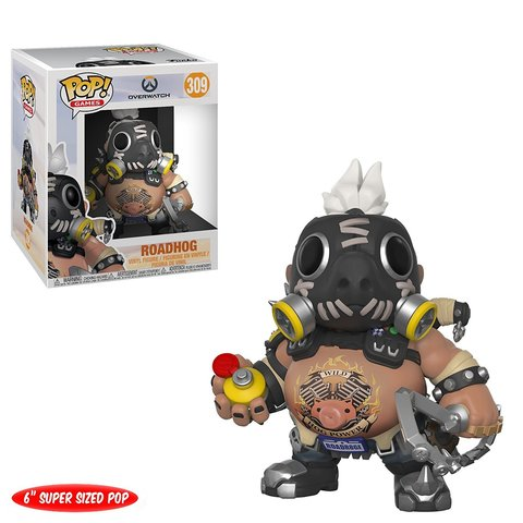 Overwatch Roadhog Oversized Funko Pop! Vinyl Figure || Турбосвин