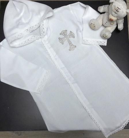 Рубашка для крещения 2-3 года
