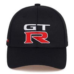 Кепка с вышитым логотипом Ниссан Джитиар (Бейсболка Nissan GTR) черная