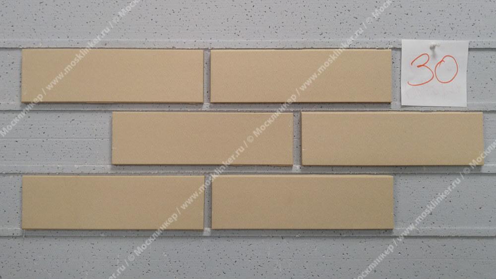 ABC - Objekta, Beige, glatt, 240х71х10, NF - Клинкерная плитка для фасада и внутренней отделки