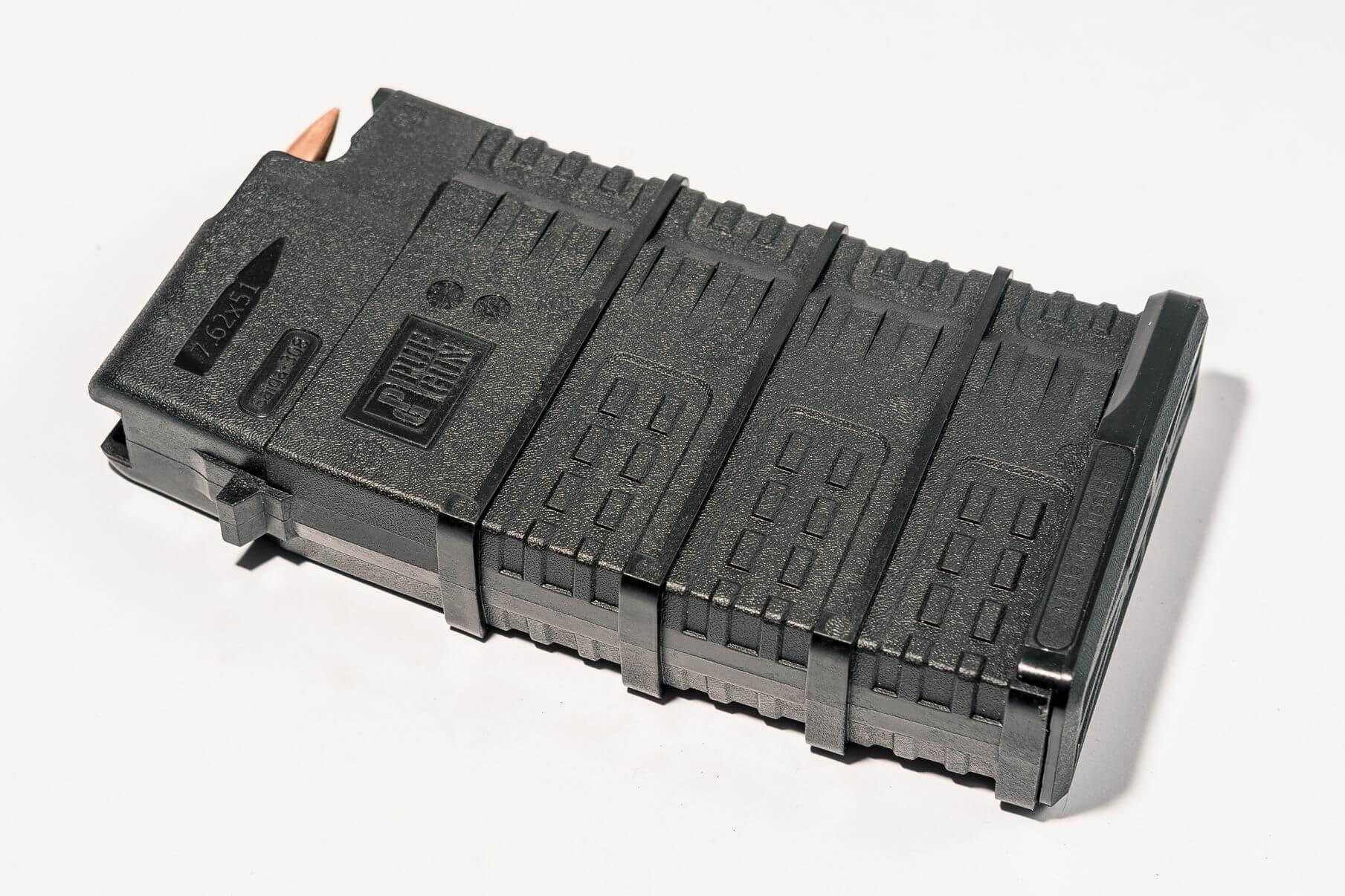 Магазин Pufgun Сайга-308 на 20 патронов, черный