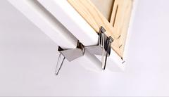 Набор из приспособлений для переноса двух холстов на подрамнике (ручка и зажимы)