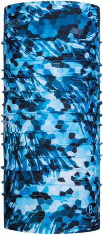Бандана-труба летняя Buff CoolNet Mosaic Camo Marine Blue
