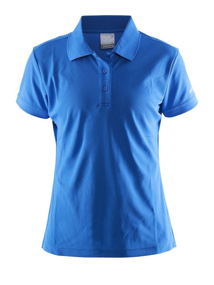 Женская рубашка поло Craft Pique 192467-1336 синяя