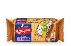 Хлебцы «Щедрые» с чесноком ржаные 100г*32 ТУ