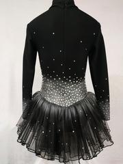 Платье для фигурного катания из термоткани