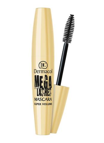 Dermacol MEGA LASHES MASCARA Тушь для придания великолепного объема с панорамным эффектом
