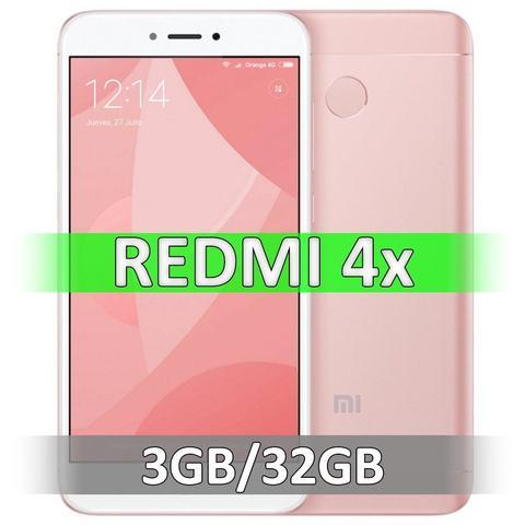Смартфон Xiaomi Redmi 4X (3-32Gb) Pink