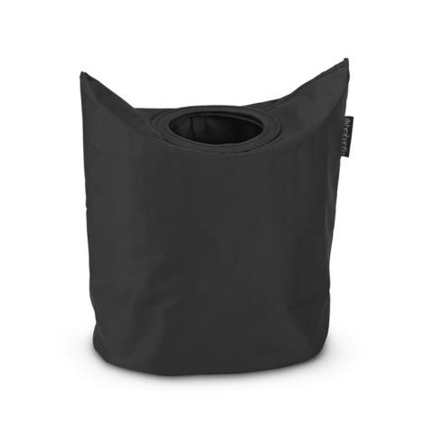 Сумка для белья овальная (50 л), Черный, арт. 101601 - фото 1
