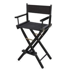 Мебель и оборудование для тату салона Складной стул для тату из дерева Стул-визажиста-деревянный.jpg