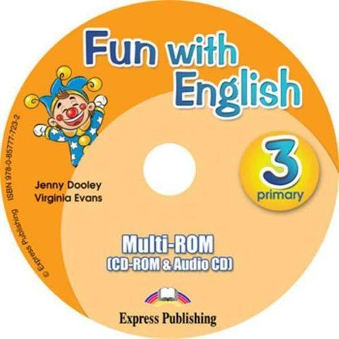 Fun with English 3. multi-ROM (CD-ROM & Audio CD ). Аудио CD/CD-ROM