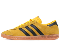 Кроссовки Мужские Adidas Hamburg Suede Mustard Black