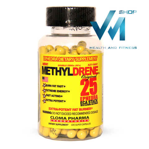 Cloma Pharma Lab Methyldrene Elite Yellow