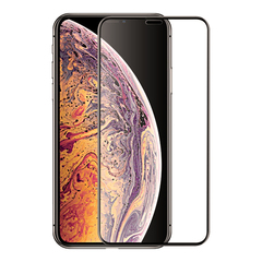 Защитное 3D-стекло для iPhone XS Max Black - Черное