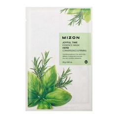 Mizon Joyful Time Essence Mask Herb - Тканевая маска для лица с травяным экстрактом