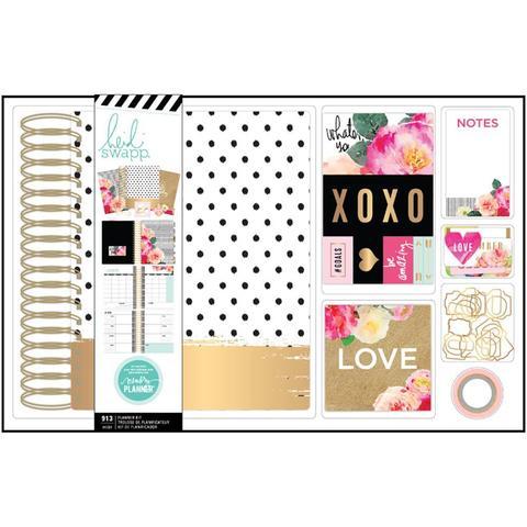 Ежедневник на пружине с украшениями Heidi Swapp Large Memory Planner Spiral Bound Boxed Kit 14х20 см