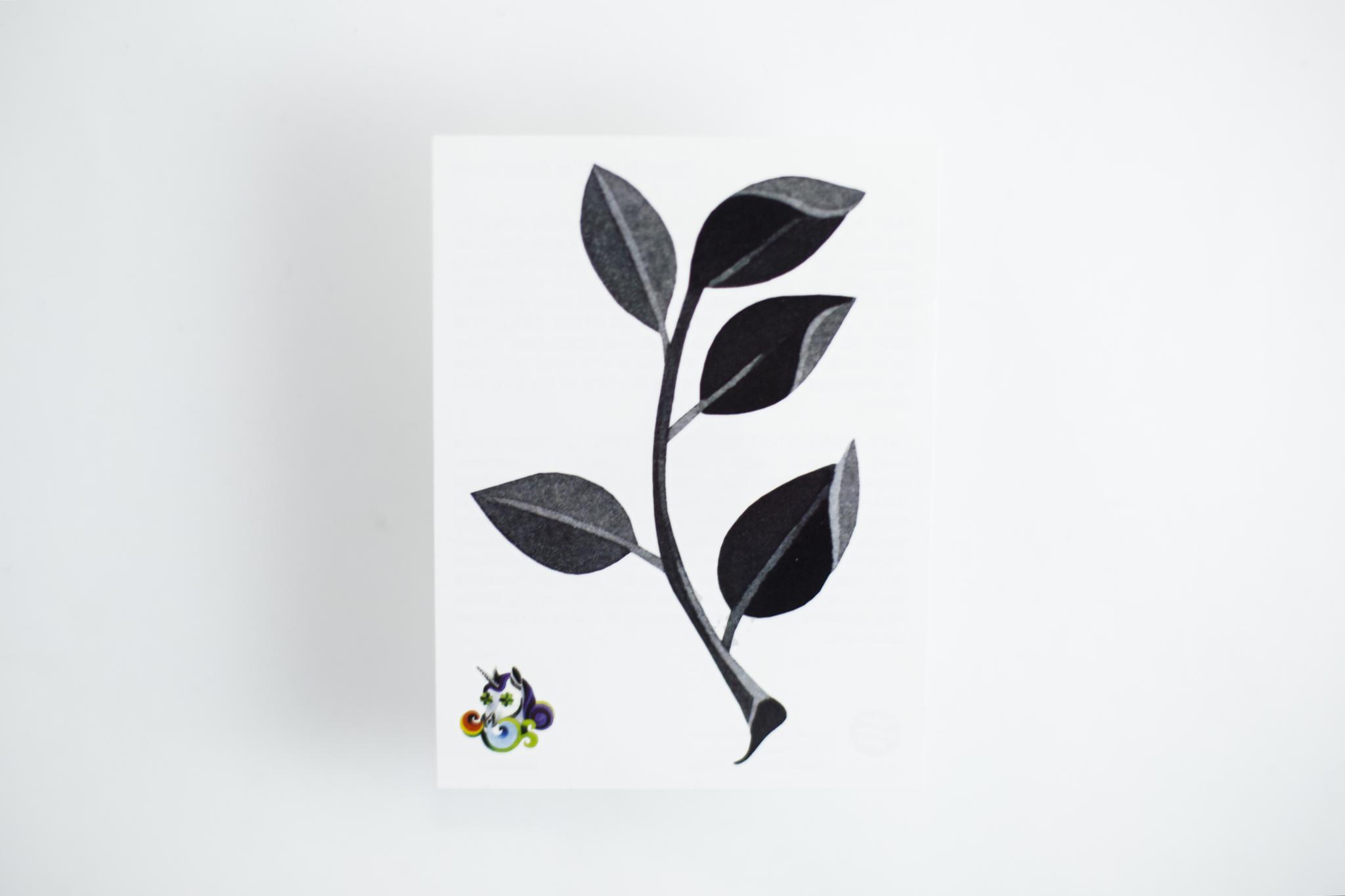 Переводная татуировка Small Branch