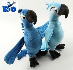 Рио 2 мягкие попугаи Голубчик и Жемчужинка