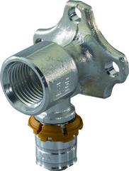 "Водорозетка длинная Uponor Smart Aqua S-Press 16-1/2""ВР, 1015345"