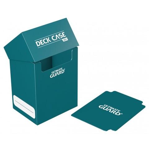 Ultimate Guard - Коробочка на 80 карт серовато-синяя