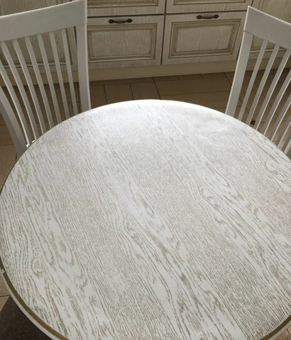 Скатерть матовая круглая 70 см