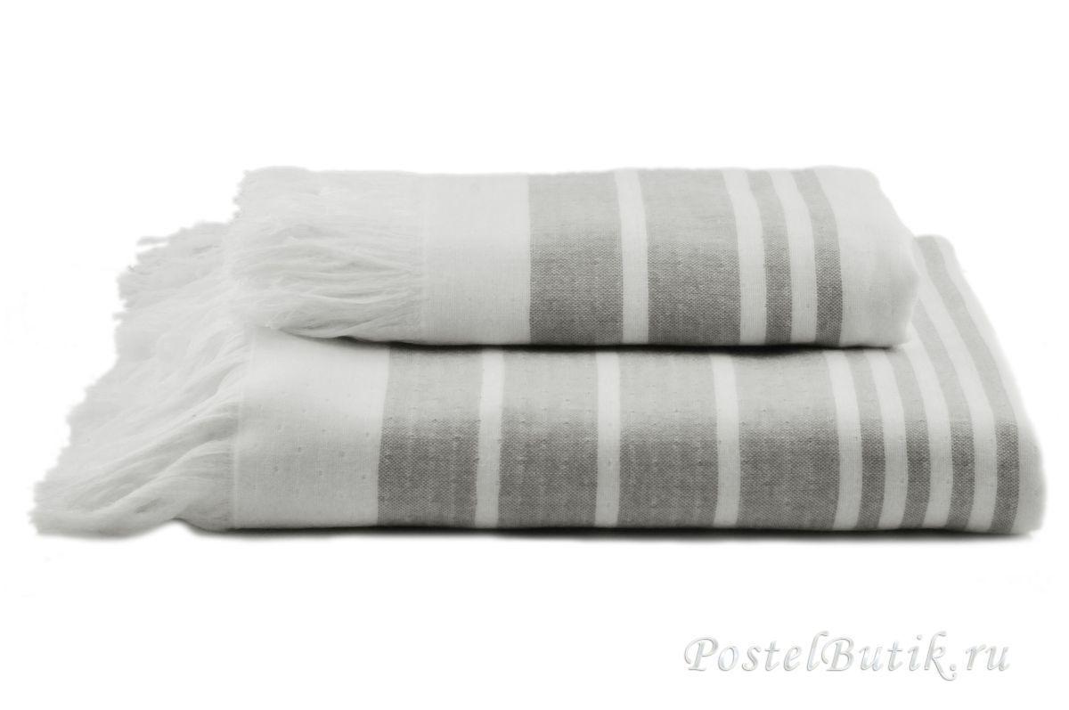 Полотенца Полотенце 100х180 Hamam Marine Towel серое elitnoe-polotentse-hlopkovoe-beliy-seriy-ot-hamam-turtsiya.jpg