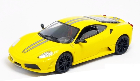Ferrari F430 Scuderia yellow 1:43 Eaglemoss Ferrari Collection #20