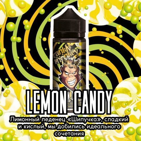 Frankly Monkey Black Edition - Lemon Candy