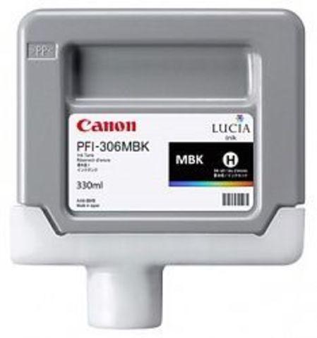 Картридж Canon PFI-306MBK matte black (черный матовый) для imagePROGRAF 8400/9400S/9400/8300S